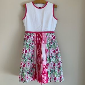 NEW Girl Oscar de la Renta Liberty Floral Dress 12